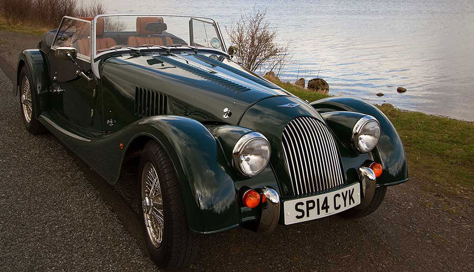 Braes Lodge Experience Classic Morgan 2 Seater